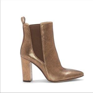 Bronze booties